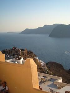 Santorini Aussicht