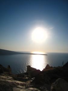 Santorini Sonne