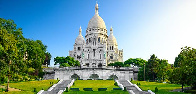 Montmartre mit der Kirche Sacre Coeur