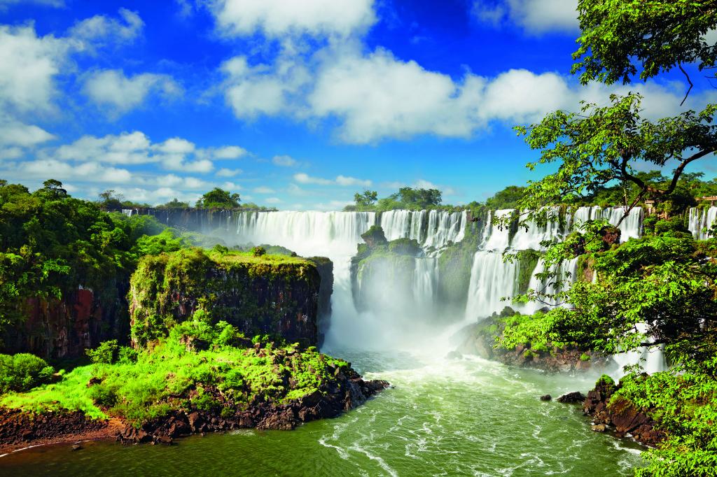 Die berühmten Iguazu Wasserfälle