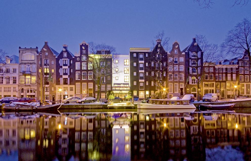 Stadtereisen Amsterdam Bahn Und Hotel