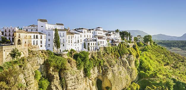Die weissen Dörfer in der Region Ronda.