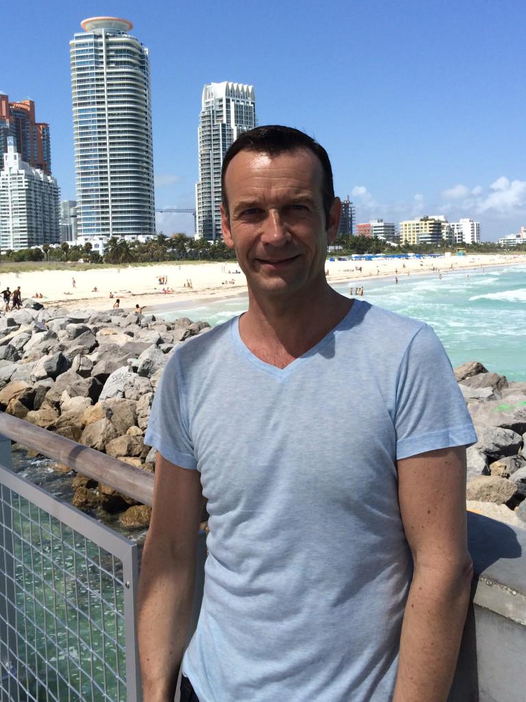 Meine Wenigkeit in Miami
