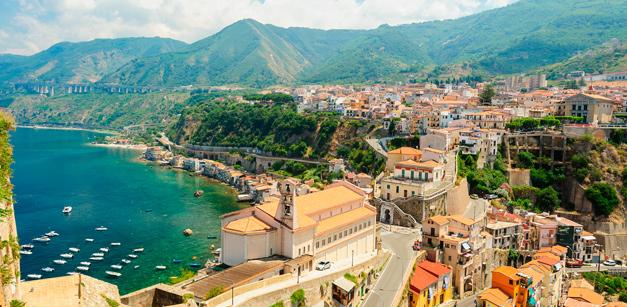 Reggio Calabria – in dieser Region werden die Zitrusfrüchte angepflanzt