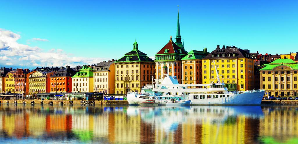 Stockholm, die Hauptstadt Schwedens