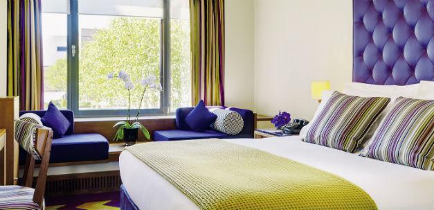 Ein Zimmer im Designhotel The Fitzwilliam.