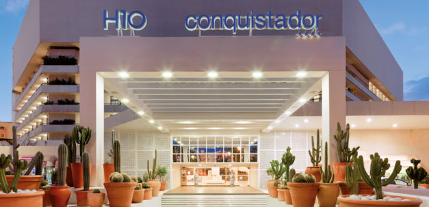 Der Eingang zum H10 Conquistador
