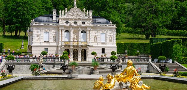 Das kleinste von allen - Schloss Linderhof