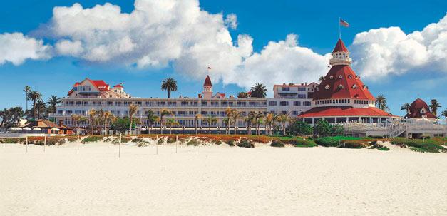 """Hotel Del Coronado, die """"Grand Old Lady"""" aller Hotels in San Diego"""