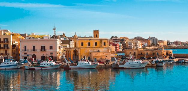 Die Hafenstadt Gallipoli