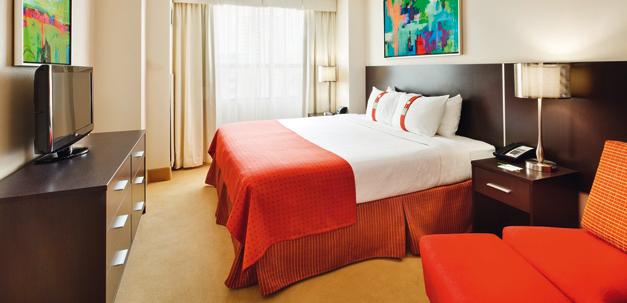 Ein Zimmer im Holiday Inn Toronto Downtown Centre