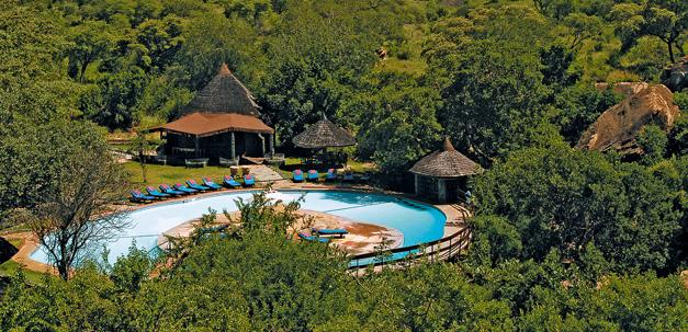 Die Tarangire Sopa Lodge