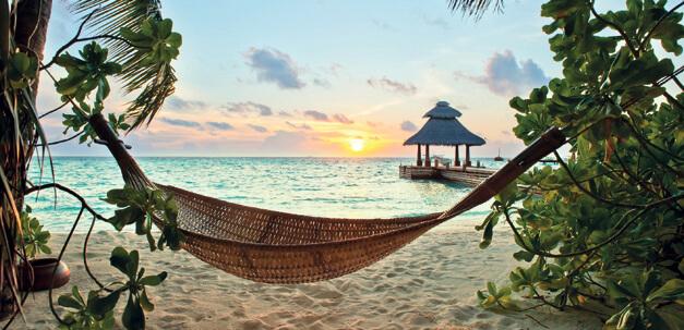 Geniesse entspannte Stunden am Strand