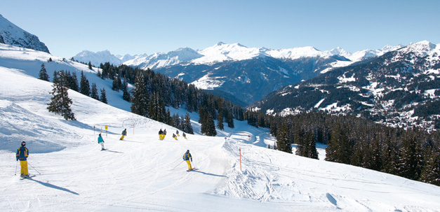 Fahre Ski im Schneesportparadies