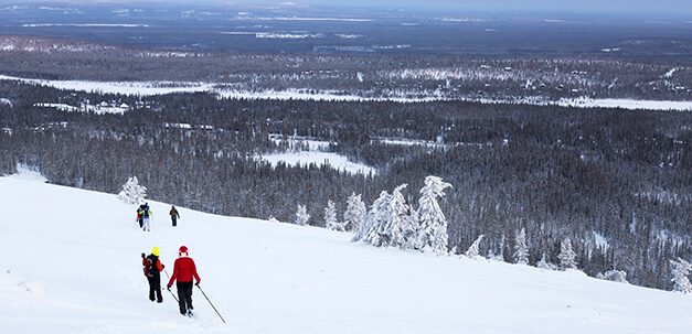 Entdecke eine der vielen Wintersportaktivitäten