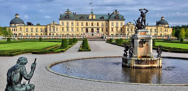 Das wunderschöne Schloss Drottningholm