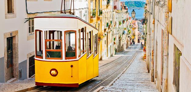 Strassenbahn von Lissabon