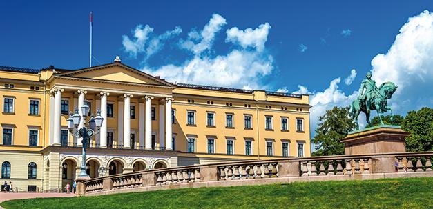 Königspalast von Oslo
