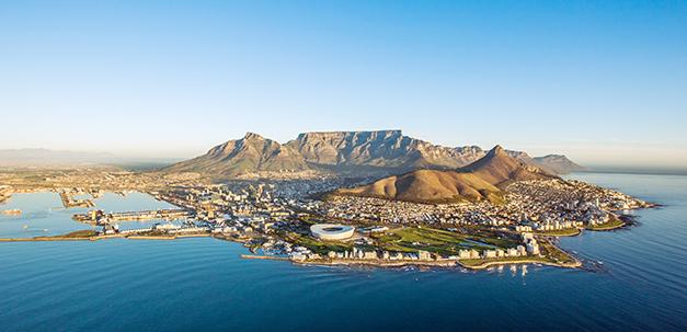 Kapstadt und sein Hausberg - der Tafelberg