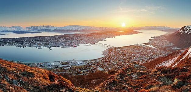 Tromsö - das Zentrum Nordnorwegens