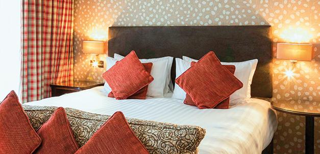 Zimmer im Hotel Somervillel