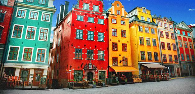 Die Altstadt Gamla Stan