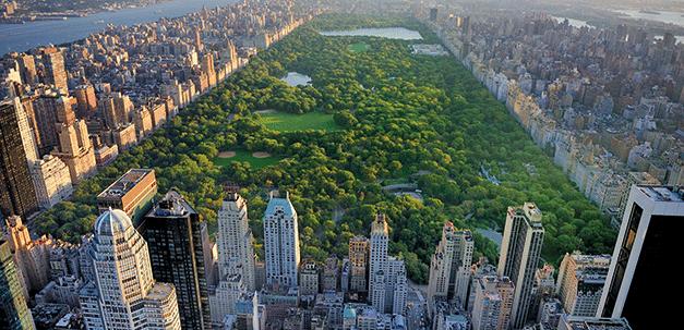 Aussicht auf den Central Park